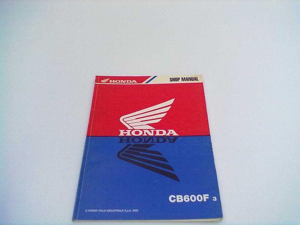 Manual Técnico Oficial Honda Hornet CB 600 F