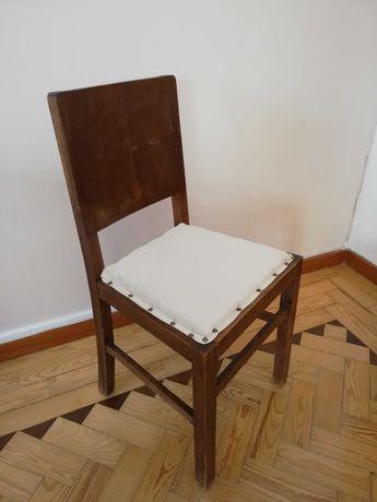 Cadeiras vintage estofadas