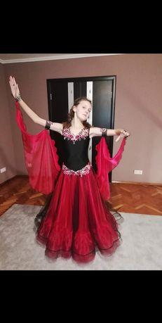 Платье стандарт танцевальное бальное