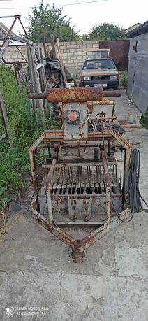 Станок для производства полублока на 8 штук оборудование