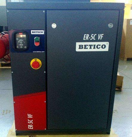 Compressor Parafuso 7.5 HP, com Variador de velocidade