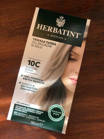 Farba do włosów Herbatint Szwedzki blond 10C