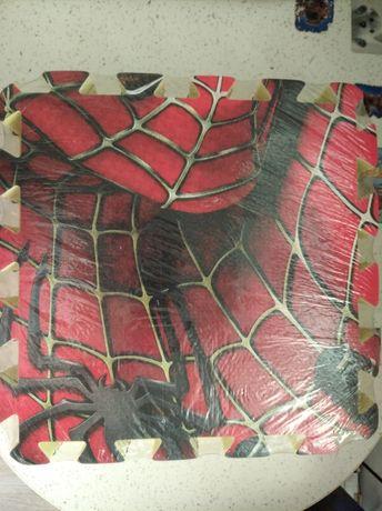 Развивающий коврик-пазл Человек паук