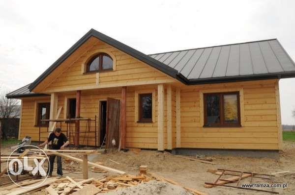 Dom drewniany szkieletowy energooszczędny kanadyjski domy projekty