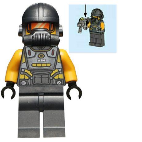 Lego Marvel SH624 Aim Agent + akcesoria Nowy! Ideał! Nie zbudowana!