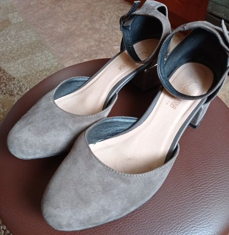 Летняя обувь натуральная замша