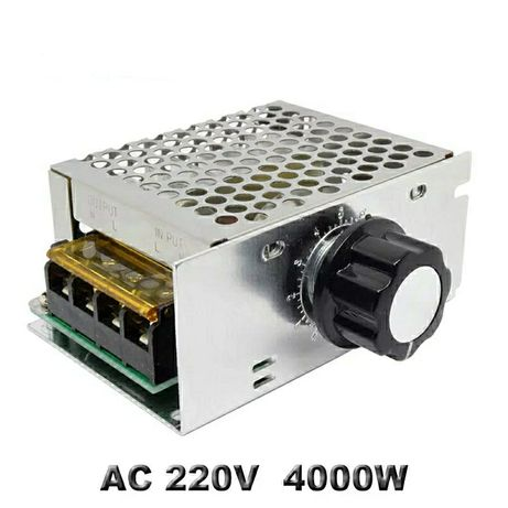 AC 220 В 4000 Вт. регулятор нанапряжения, оборотов двигателя, диммер.