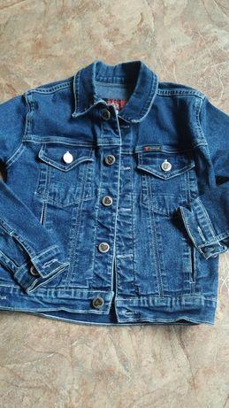 Джинсовый пиджак 6 лет