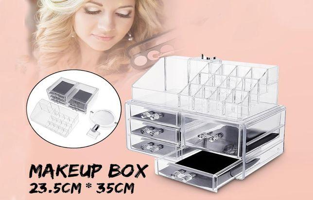 Cosmetic storage box, Органайзер для хранения косметики акриловый