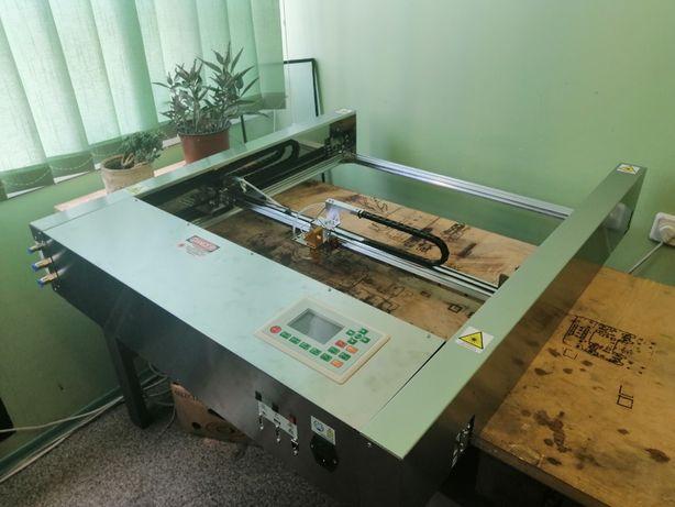 Лазерный станок LASERBOT- 800 -40. ЧПУ. Лазерный гравер.Лазер СО2