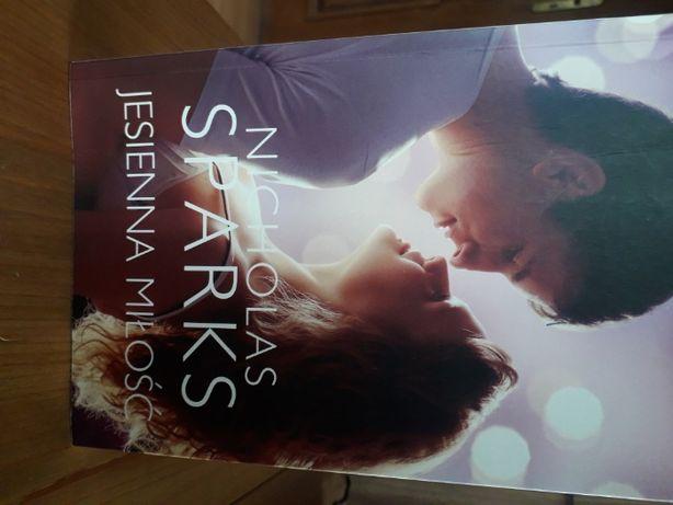 """Książka """"Jesienna Miłość"""" Nicholas Sparks"""