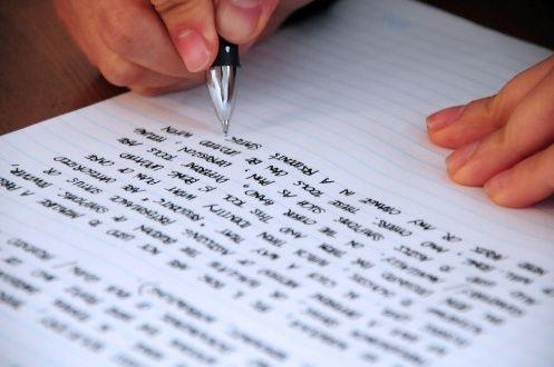 Напишу текст конспект реферат от руки