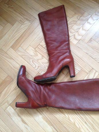 Итальянские кожаные сапоги Роберто дел Карло