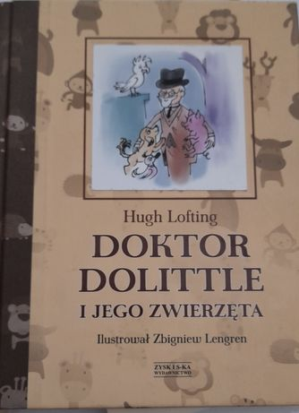 Książka doktor dolittle