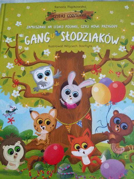 Zamieszanie na leśnej polanie czyli now przygody gangu słodziaków.