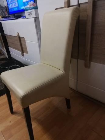 Krzesło ekoskóra 6 szt.