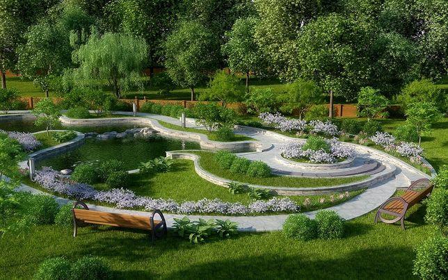 Благоустройство и обслуживание парков и садов