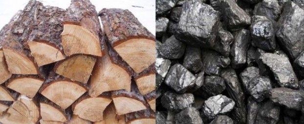 Много тепла для вас дрова уголь