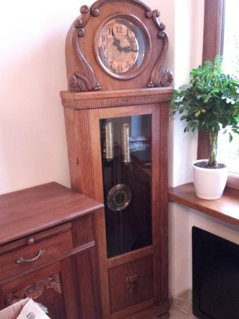 Stary zegar stojący GB medalowy pełna płyta ,Graham nowa super cena by