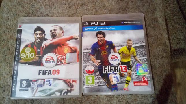 Fifa 13 i 09 PS3