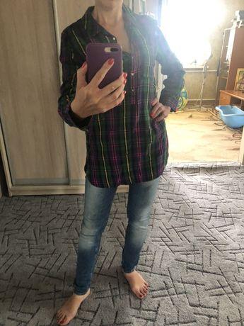 Джинсы Рубашка для беременных