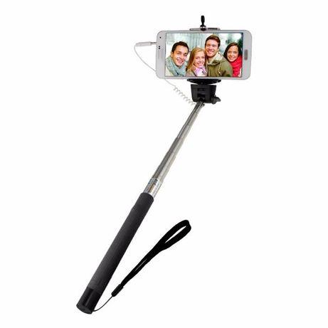 Selfie Stick MONOPOD novo com butão de dispara