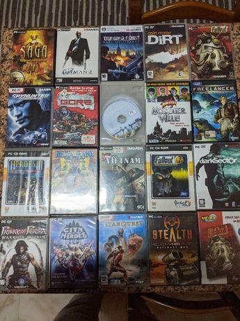 Jogos antigos PC + CDs demos MegaScore, BGamer e PlayGames