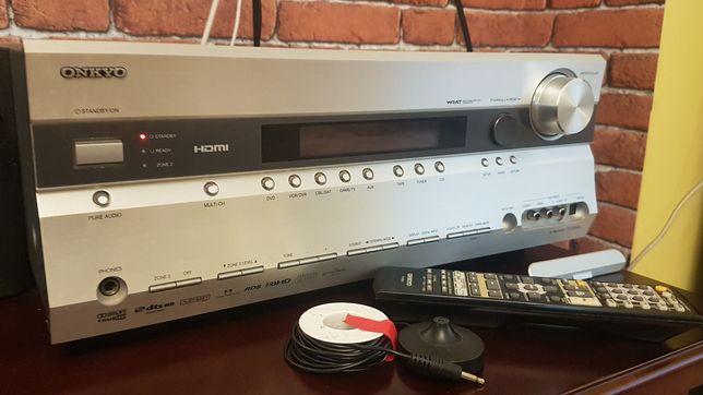 Amplituner Onkyo tx-sr605 7.1 630W