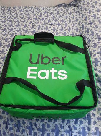 Vendo bolsa uber eats (ideal para quem faz entrega de carro)