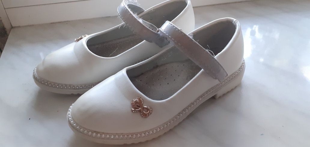 Білі Туфлі 27 розмір