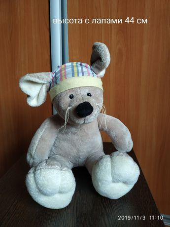Игрушка крыса/мышь в шапке