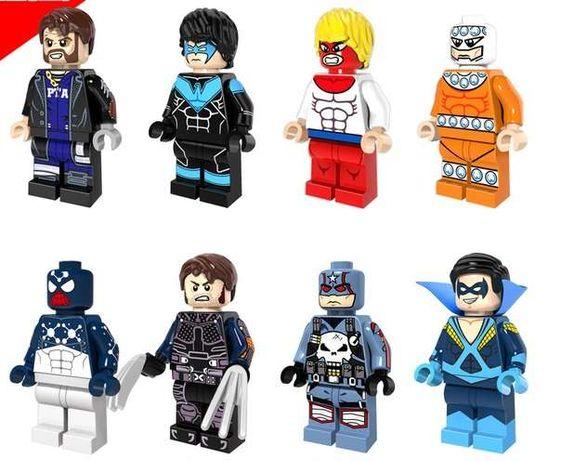Bonecos minifiguras Super Heróis nº71 Marvel / DC Comic (compat. lego)