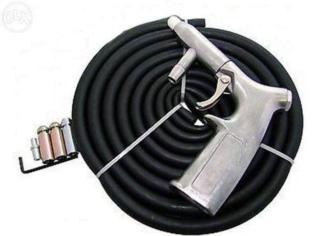 Pistola de decapar a areia para compressor