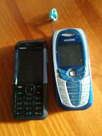 Telefony Nokia i SIEMENS-sprawne.