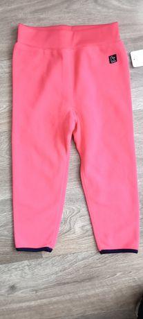 Spodnie polarowe kax kappahl 98/104
