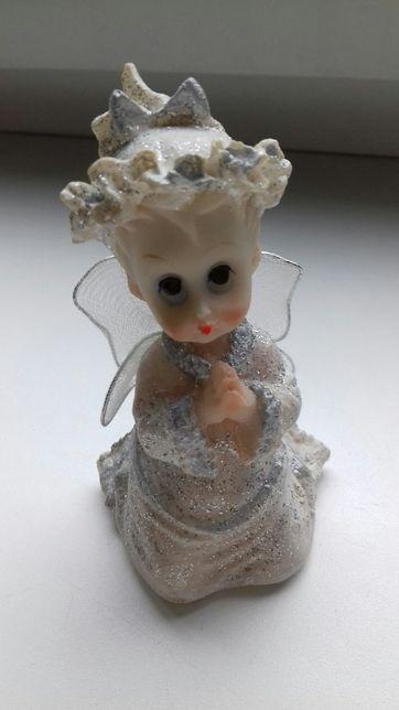 Сувениры для декора ангелочек свинка кот-свеча