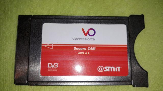 Viaccess moduł Ci tv sat dekoder ci