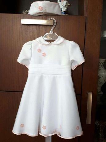 Sukienka do chrztu 74 cm - nowa!!