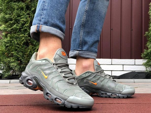 Распродажа Мужские Кроссовки Nike Air Max TN plus 44 размер хаки