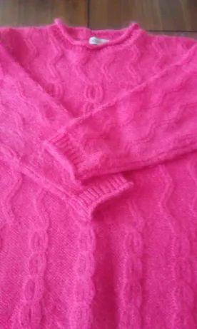 Sweter róż roz XL