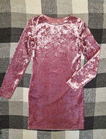 Платье на девочку, с бархата, плаття бархатне.