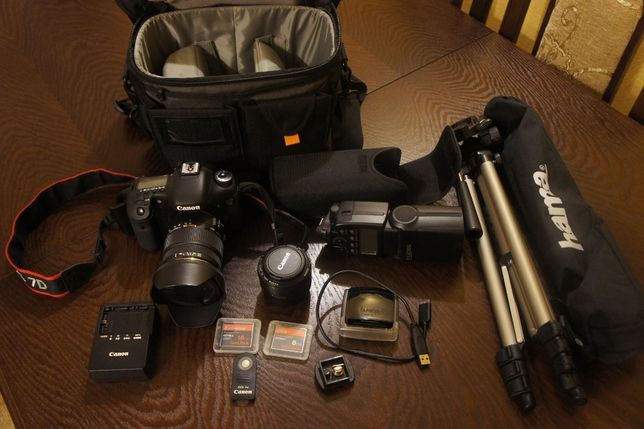 lustrzanka Canon 7D