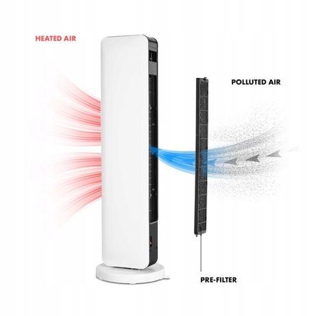 Вентилятор + Теплодуйка Германия 2в1 2200W Пульт Керамичекий ионизация