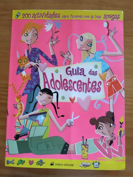"""""""Guias das adolescentes"""" da Porto editora"""