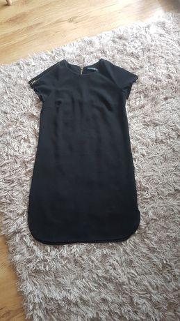 Mała czarna sukienka z zamkami Atmosphere r.36/38  S/M