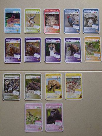 Cartas Super Animais 1 e 2 - Pingo Doce