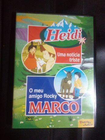 2 Filmes de animação - Heidi e Marco