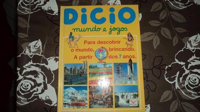 Livro e Dicionário: Dicio mundo e jogos