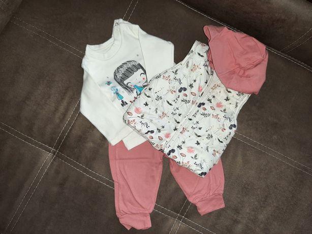 Костюмчик для дівчинки трійка (6 місяців)