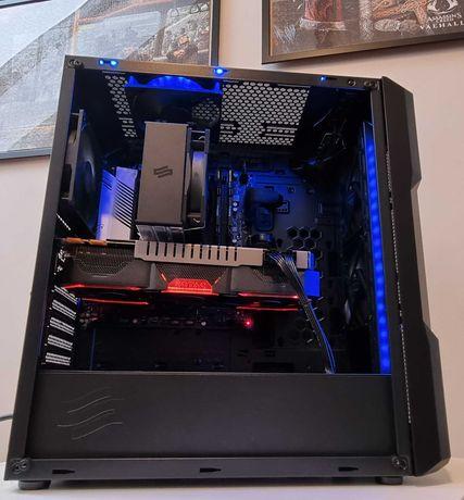 Nowy Komputer. I5-11400F, 2xSSD, GTX 1080, Idealny do gier oraz pracy.